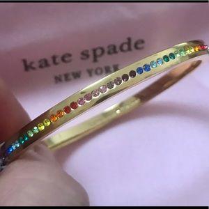 Kate Spade Pave Crystal Rainbow 🌈 Bangle